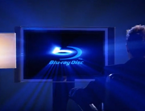 Blu-ray Reklama na DVD